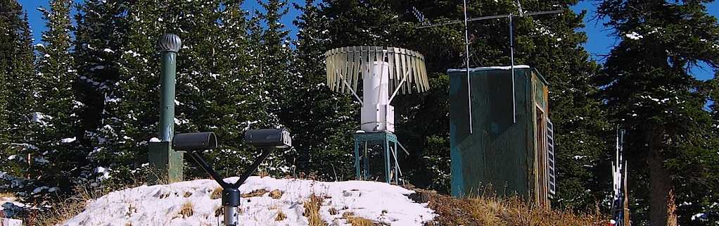 A raingauge, disdrometer and surface observation station are deployed at Soddie (2900 m MSL).